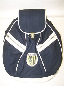 Seltener-Age-GDR-Backpack-With-Dresden-Logo-Emblem-Top-Condition