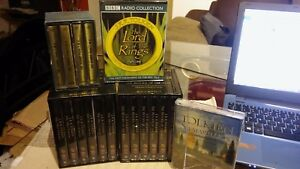 THE-LORD-OF-THE-RINGS-PART-1-3-THE-HOBBIT-THE-SILAMARILLION-Audio-Cassettes