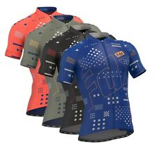 FDX Mens ALL DAY Cycling Jersey Breathable Half Sleeve Racing Team Biking Top