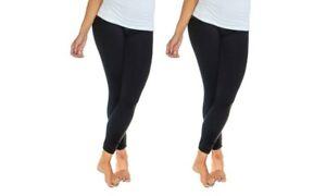 Women-039-s-Full-Length-Fleece-Lined-Leggings