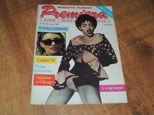 Premiera 7/1991 polish magazine Madonna, Johnny Depp, Kevin Costner, br. Coen - Bilgoraj, Polska - Premiera 7/1991 polish magazine Madonna, Johnny Depp, Kevin Costner, br. Coen - Bilgoraj, Polska