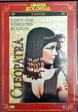 Cleopatra Elizabet Taylor ( 2 Dischi ) Dvd I Grandi Kolossal Master