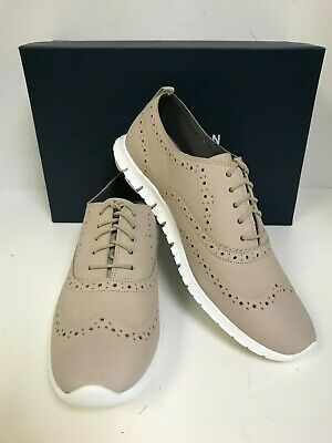 Cole Haan Womens Zerogrand Wing-Tip Oxford