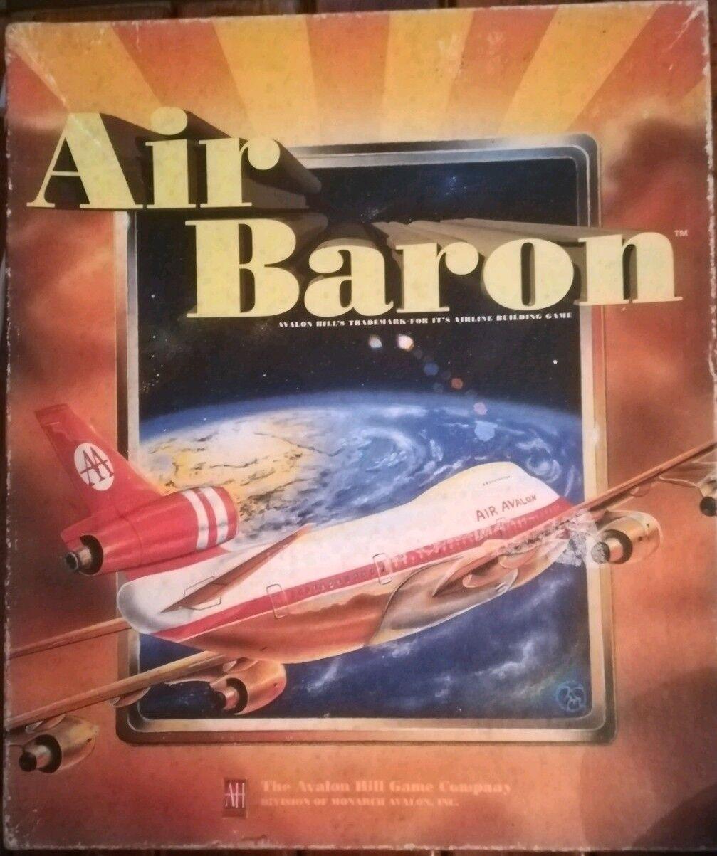 Air Baron   Avalon Hill   Ultra Rar   Teilweise Unpunched   Sammelauflösung