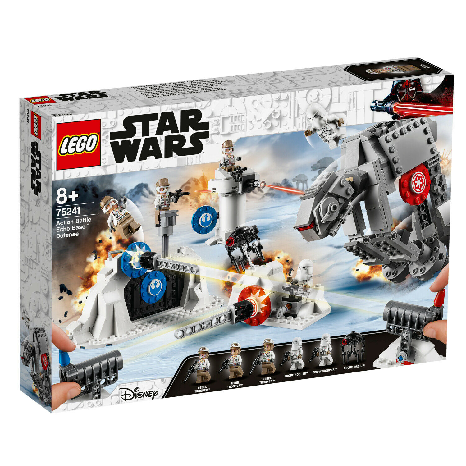 LEGO ® 20 Jahre SW 75241 Action Battle Echo Base Grüneidigung Trooper
