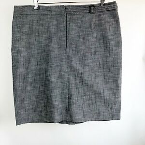 Harve-039-Bernard-Women-039-s-Gray-Skirt-size-18