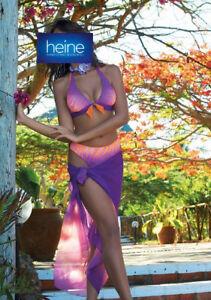 Neckholder-Softcup-Bikini, Grimaldimare . Lila. Cup B. NEU!!! KP 89,90 € SALE%%%