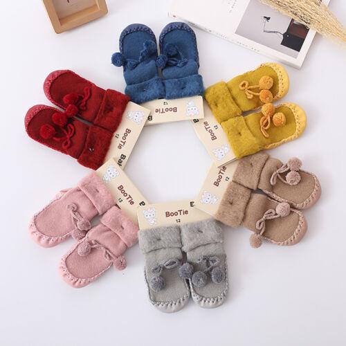 Hot Sale Newborn Infant Girls Cotton Floor Socks Anti-Slip Baby Step Socks 0-24M