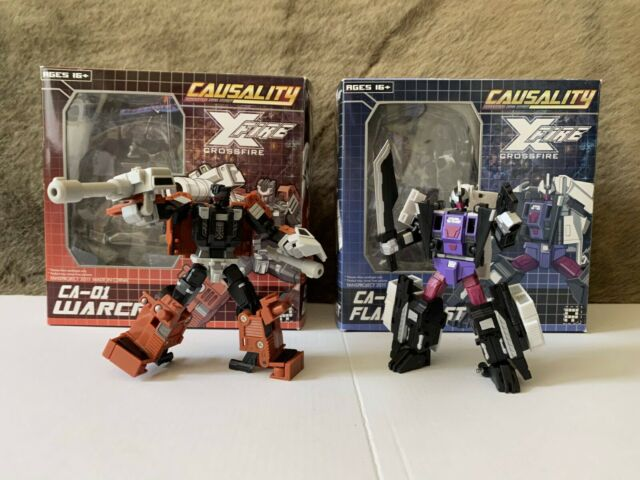 Transformers FansProject Causality CA-01 Warcry & CA-02 Flameblast