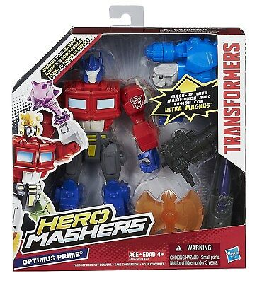"Transformers Hero Mashers Optimus Prime 6/"" Electronics MISB Sealed New"