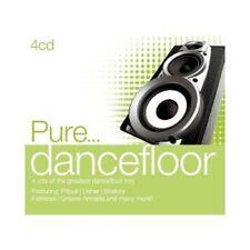 PURE...DANCEFLOOR 4 CD PITBULL, USHER, KESHA, RITA ORA, ... NEU