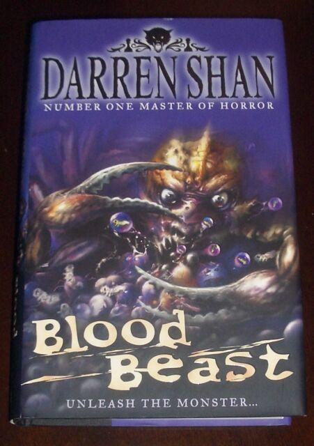 ' BLOOD BEAST ' by : Darren SHAN : 1st. edition : hardback+dj. : 2007 ; SIGNED.