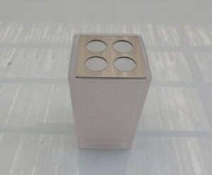 Zahnburste Inhaber Waschbecken Inda Glas Glas Satin Badmobel Neu Ebay