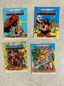 Vintage MOTU Masters of the Universe He-Man 1984 SERIES 4 Comic Books LOT of 4