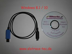 PC-Carrera-Digital-132-124-PC-Unit-hier-ein-Alternativkabel-in-Wunschlaenge