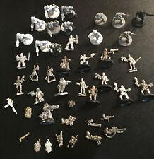 Large Lot of 30+ Necromunda Gangers - Metal & Plastic & bits - Warhammer 40k