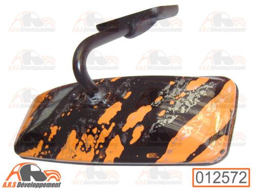 "/""fun orange/"" de Citroen 2CV DYANE MEHARI 12572 MIRROR RETROVISEUR intérieur"