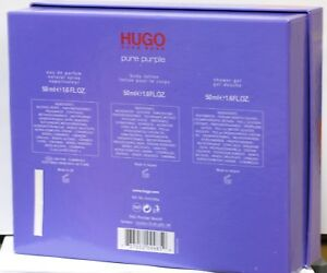 Hugo Boss Pure Purple  zestaw  edp 50 ml +