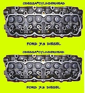 2 ford international 7 3 diesel cylinder heads f250 f350. Black Bedroom Furniture Sets. Home Design Ideas