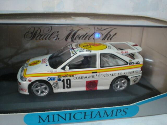 MINICHAMPS 1/43 FORD ESCORT RS COSWORTH JENOT / SLO  F  8th MONTE CARLO 1994