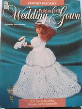 Wedding Gown Fashion Doll crochet pattern