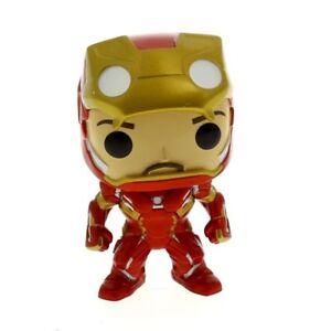 Figura Funko Pop Iron man desenmascarado