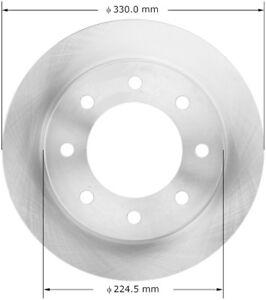 Bendix Premium Drum and Rotor PRT5875 Rear Brake Rotor