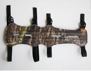 SAS 11.5 Black Long Archery Armguard with 4-Strap Buckles