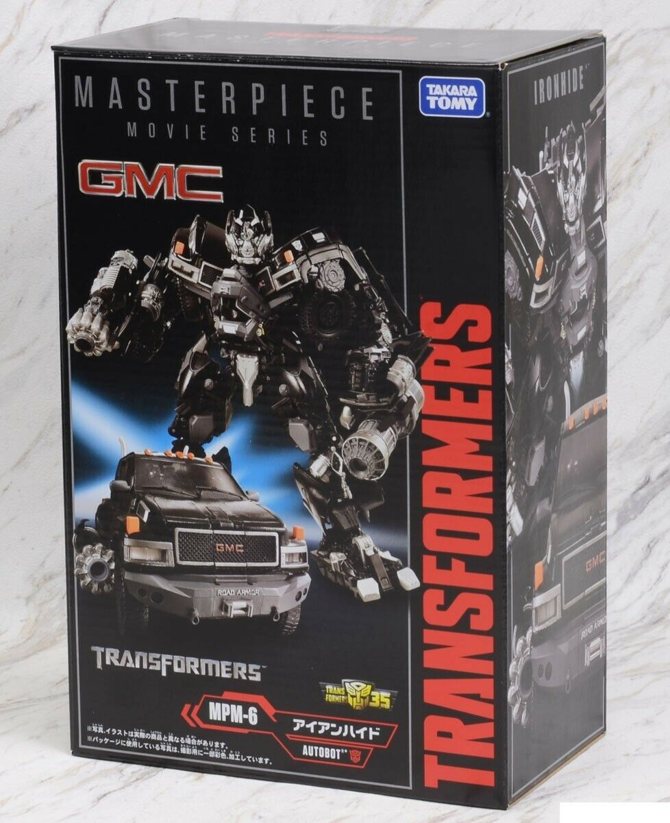 Transformers Masterpiece MPM-06 Ironhide Takara USA vendeur (100% Authentique)