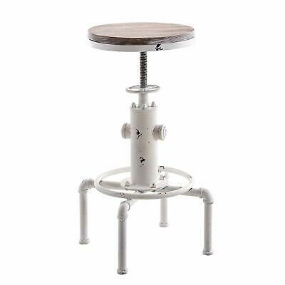 Amazing Swivel Counter Bar Stools Adjustable Height Industrial Pub Chair Wood Seat White 745560380017 Ebay Gamerscity Chair Design For Home Gamerscityorg