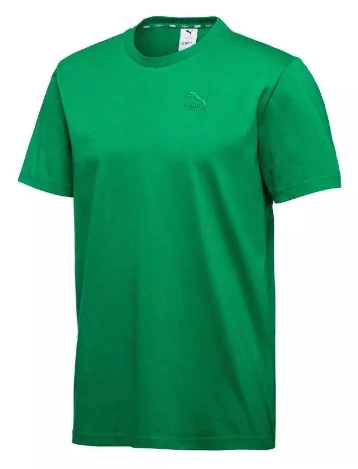 27f366821b Puma x Sean Logo T-Shirt Tee Men's Size XL Jelly Green NWT Bean Big ...