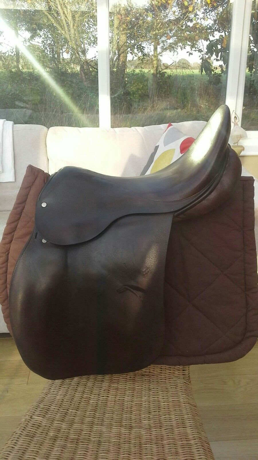 Brown Ideal GP Saddle 18 Inch - NOW REDUCED FURTHER
