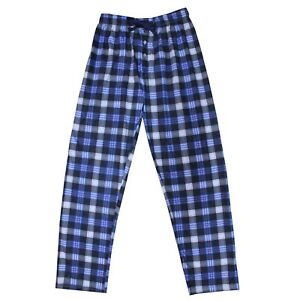Pantalon-Pijama-Hombre-Azul-Cuadros-Casa-Caballeros-Largo-Primavera-Ligero-Ropa
