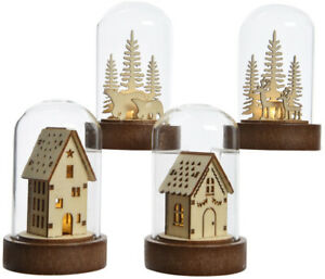 Christmas-Light-Up-Reindeer-In-Forest-Dome-Xmas-Festive-Indoor-Room-Decoration