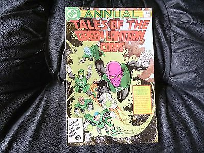 Green Lantern Tales of the  Corps annual # 2 NM 1986