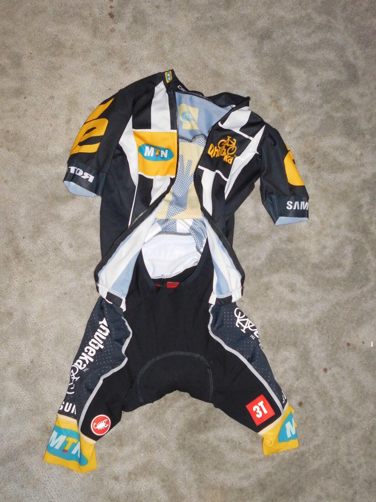 NEU Castelli San Remo Race Suit Team MTN Cervelo Aero Aero Aero Einteiler Gr. M 2de49b