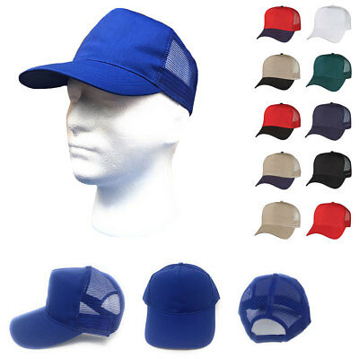 Hüte & Mützen Temperamentvoll 1 Dutzend Baumwolltwill Baseball Netz Trucker 5 Panel Hut Großhandel Bulk Um Jeden Preis