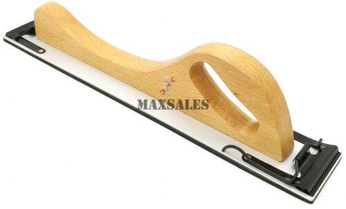 "New HAND SANDER 17/"" Long Auto Body Filler Wood Sand Pad Board Quick Change PSA"