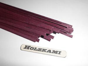 30 Holzleisten  Mahagoni   300mm x 1mm x 1mm  L//B//H  Neu