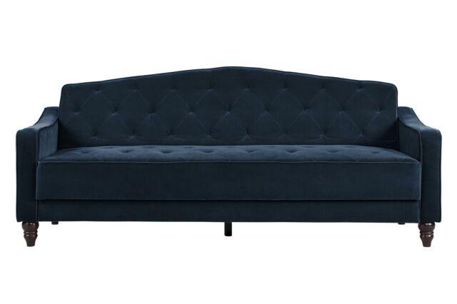 Novogratz Vintage Tufted Sleeper Sofa Bed Ii Multiple Colors
