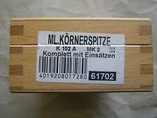 Mitlaufende Körnerspitze von Röhm MK 2 ,K102A mit 7 auswechselbaren Einsätzen