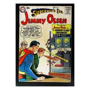 Superman-039-s-Pal-Jimmy-Olsen-1954-series-33-in-VG-condition-DC-comics-yl