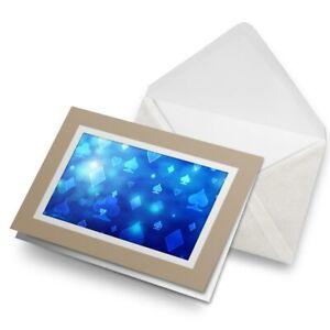 Greetings-Card-Biege-Blue-Playing-Card-Pattern-Poker-24044