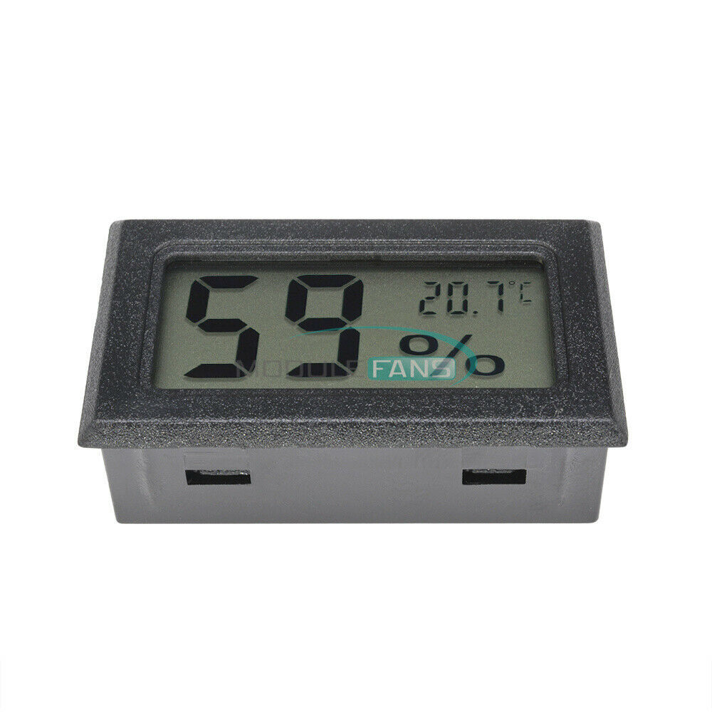 5PCS Mini Digital LCD Indoor Temperature Humidity Meter Thermometer Hygrometer