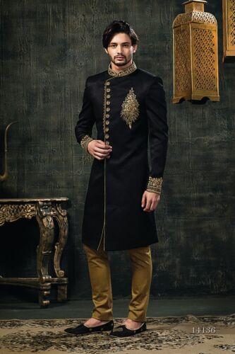 Tathastu Mens Sherwani Kurta Indian Wedding Ethnic Wear Zari work - Customisable