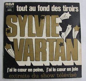 SYLVIE-VARTAN-SP-45-Tours-TOUT-AU-FOND-DES-TIROIRS