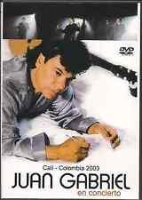 rare DVD JUAN GABRIEL en concierto Cali Colombia QUERIDA amor eterno COSTUMBRES