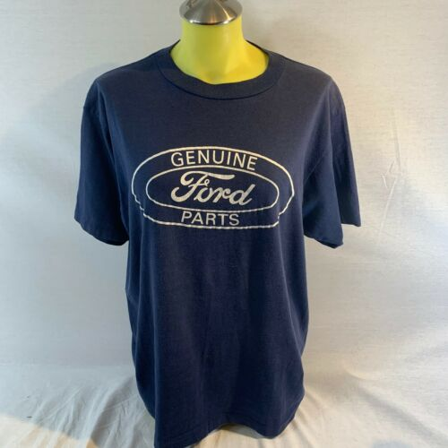 Genuine Ford Parts Women/'s Long Sleeve T-Shirt Distressed Ford Logo