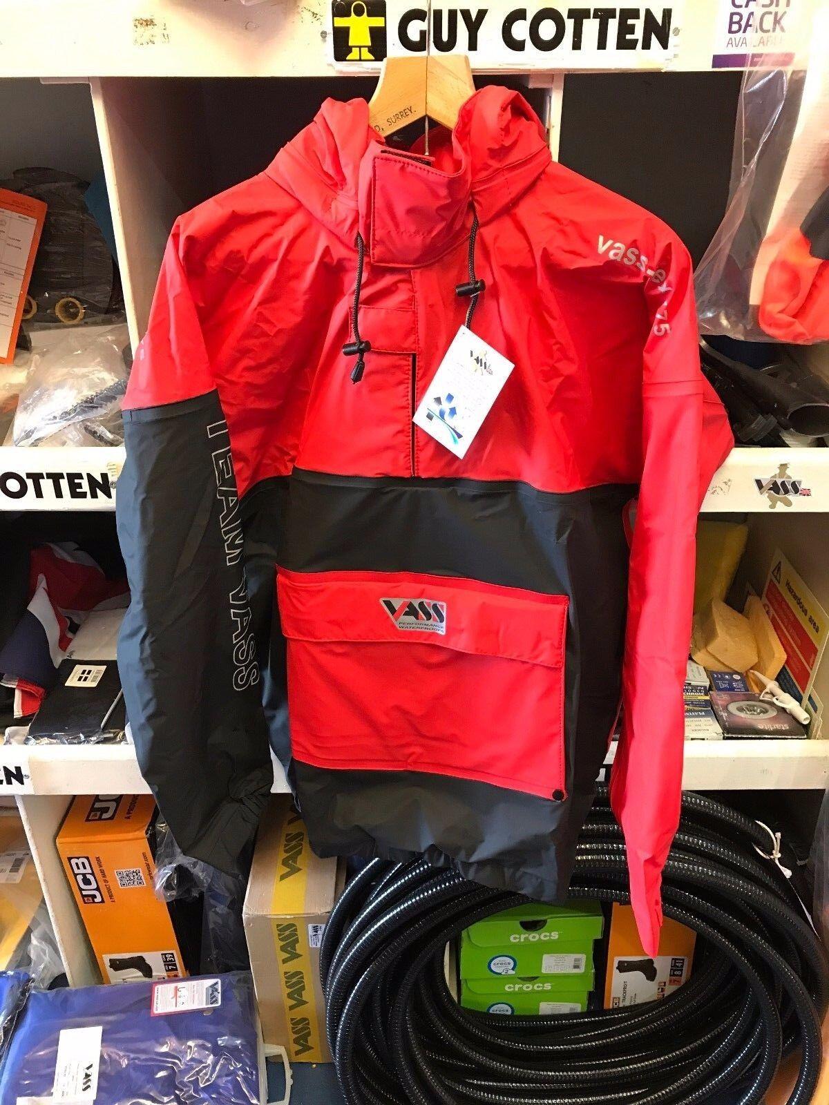 Vass Team Edition ligero Vass Tex 175 Smock-Rojo Negro