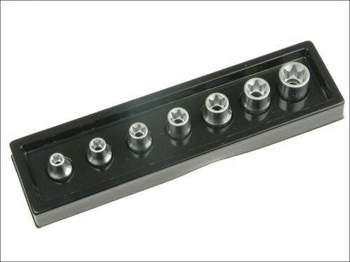 Stahlwille Torx Socket Set of 7 1//2in Drive